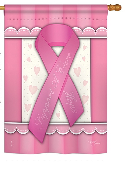 Support A Cure House Flag