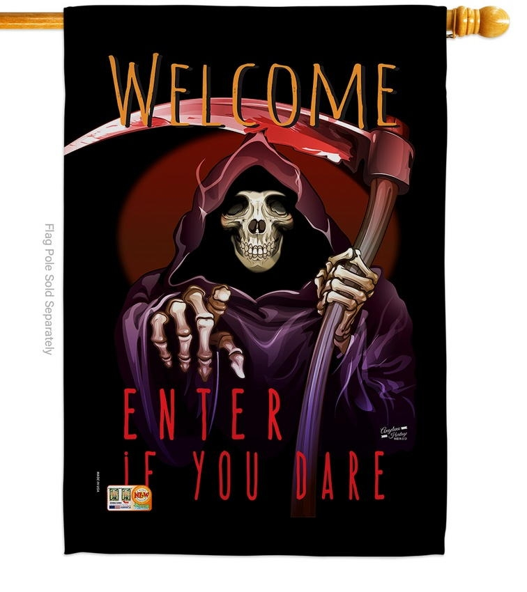 Enter If You Dare House Flag