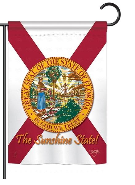 Florida Garden Flag More Garden Flags At Flagsforyou Com