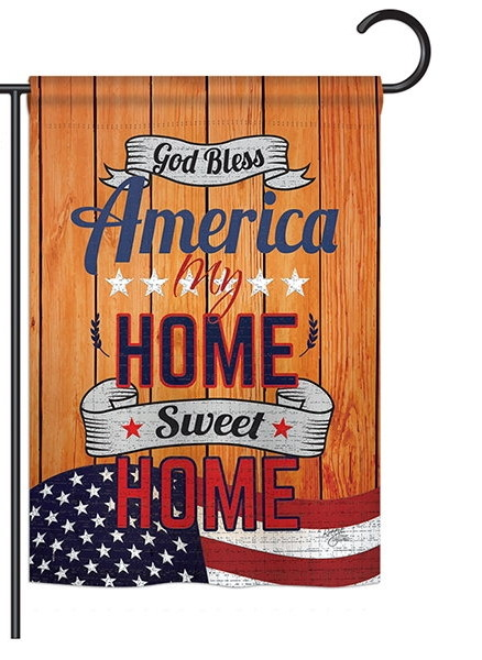 America My Home Garden Flag