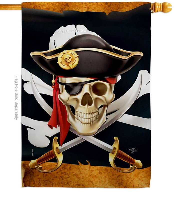 Pirate Life House Flag