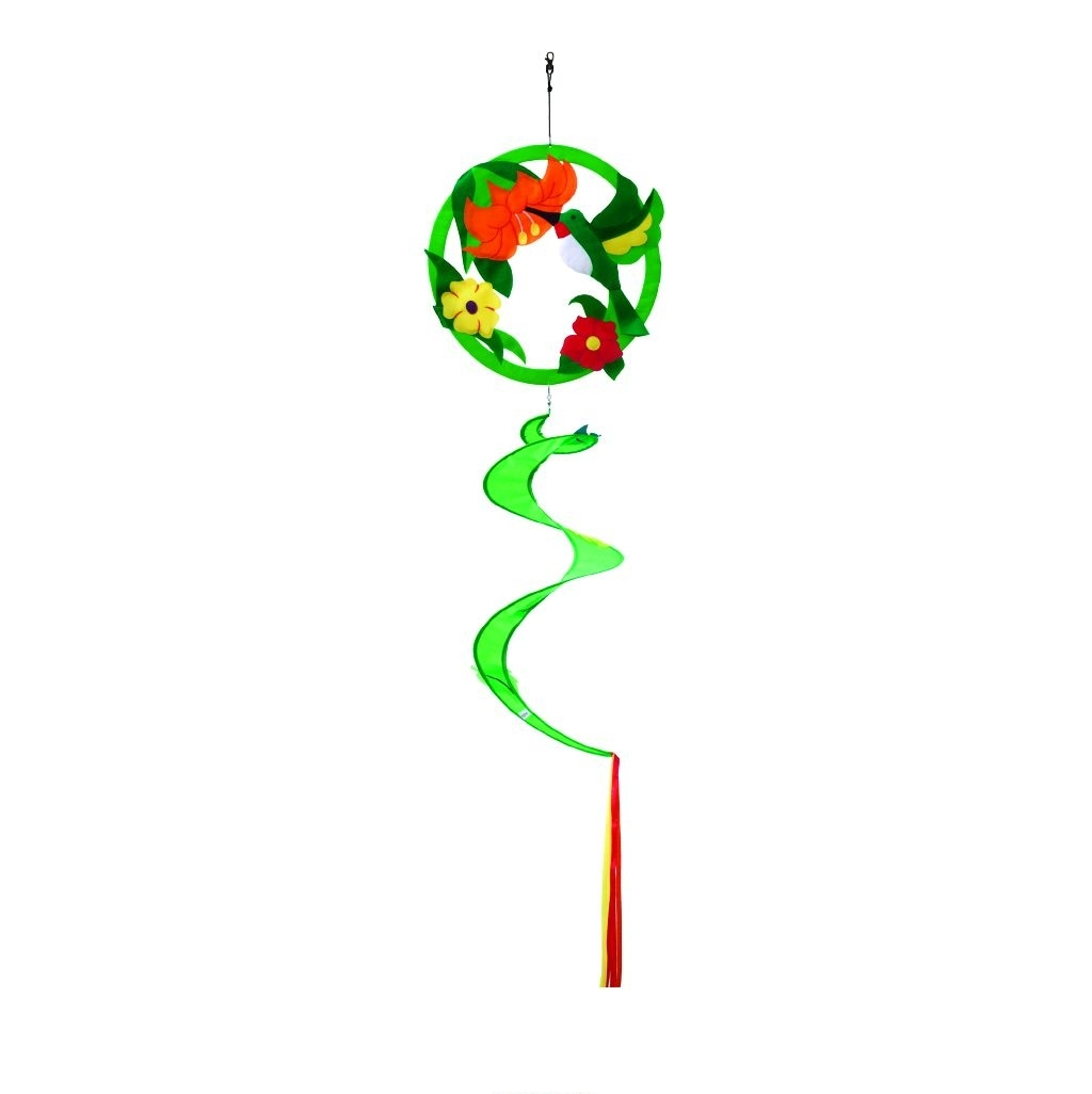 Hummingbird Applique Twister Ball Spinner 14\