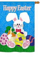 Happy Bunny House Flag
