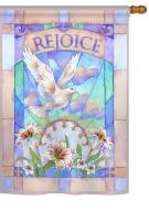 Rejoice House Flag