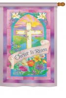 Christ is Risen House Flag