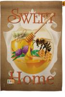 My Bee Sweet Home House Flag