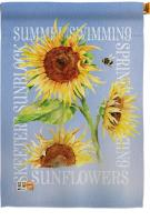 Summer Sunflower Decorative House Flag