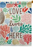 Love Lives Here House Flag