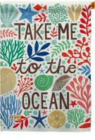 Take Me To The Ocean House Flag