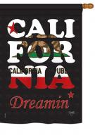California Dreamin House Flag
