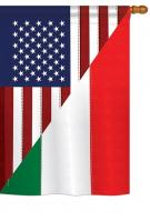 US Italian Friendship House Flag