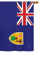 Turks and Caicos Islands House Flag