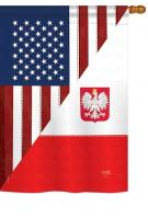 US Polish Friendship House Flag