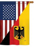 US German Friendship House Flag