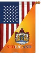 US Dutch Friendship House Flag