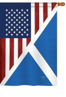 US Scotland Frienship House Flag