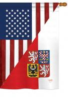 US Czech Friendship House Flag