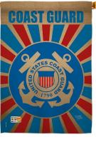 Coast Guard Decorative House Flag
