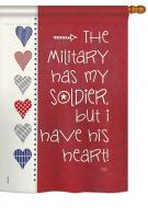 My Soldier House Flag