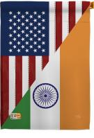 US India Friendship House Flag