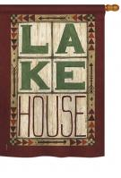 Lake House House Flag
