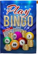 Play Bingo Decorative House Flag