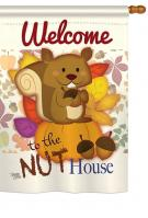 Nut House House Flag