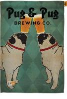 Pug And Brewing House Flag