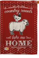 Country Friends Decorative House Flag