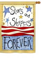 Stars & Stripes House Flag
