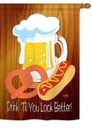 Drink \'Til You Look Better House Flag