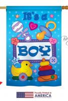 Baby Boy House Flag
