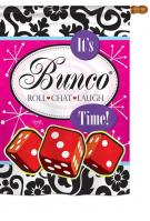 It\'s Bunco Time! House Flag