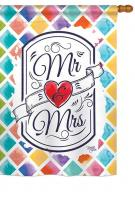 Mr & Mrs House Flag