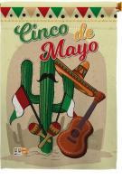 Fiesta Cinco de Mayo House Flag