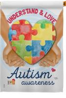 Understand Autism Awareness House Flag