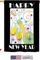 Happy New Year champagne House Flag
