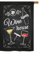 Wine House House Flag
