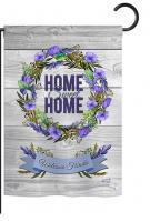 Blooming Home Sweet Home Garden Flag