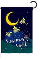 Summer Fireflies Garden Flag