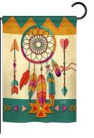 Tribal Dreamcatcher Garden Flag