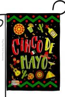Ready To Cinco de Mayo Garden Flag
