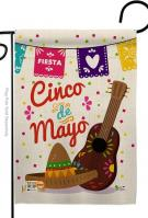 Fiesta Cinco de Mayo Decorative Garden Flag