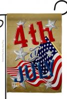 4th Of July Decorative Garden Flag