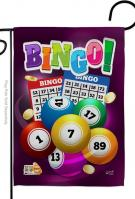 Bingo Game Garden Flag