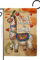 Don\'t Forget To Smile Garden Flag