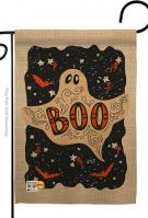 Ghoulish Boo Garden Flag