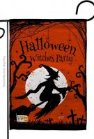 Witches Party Garden Flag