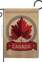 Happy Canada Day Garden Flag