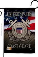 US Coast Guard Decorative Garden Flag